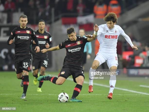 Fussball GER 1 Bundesliga Saison 2016 2017 16 Spieltag vre Yuya Osako Aleksandar Dragovic Vladlen Yurchenko