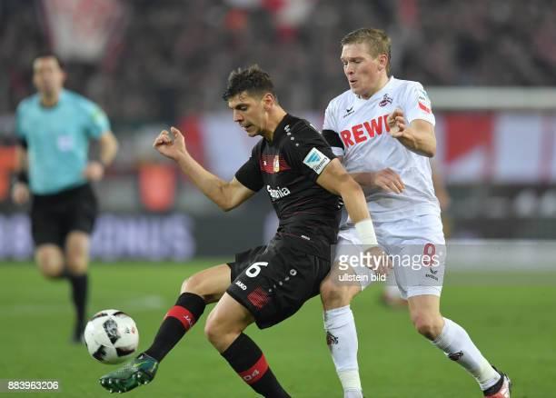 Fussball GER 1 Bundesliga Saison 2016 2017 16 Spieltag Aleksandar Dragovic li gegen Artjoms Rudnevs