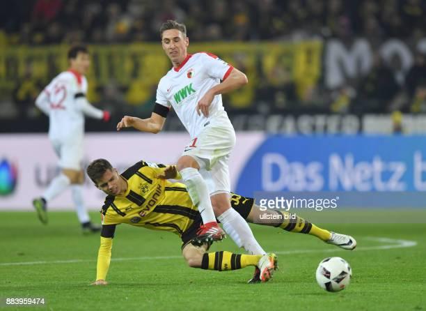 Fussball GER 1 Bundesliga Saison 2016 2017 16 Spieltag Julian Weigl li gegen Dominik Kohr