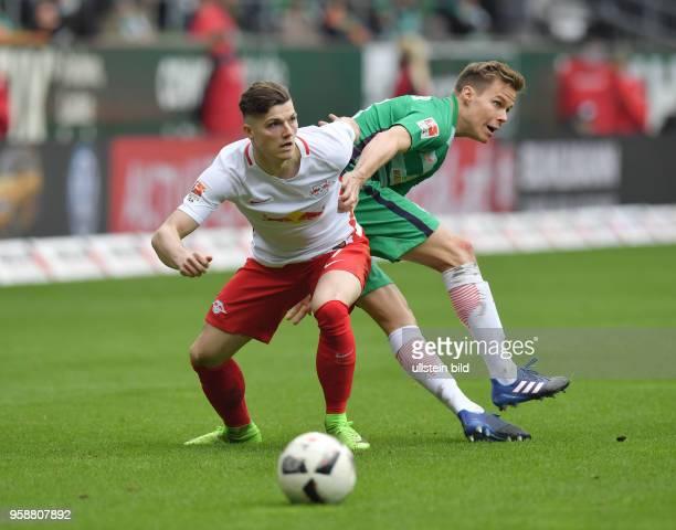 Fussball GER 1 Bundesliga Saison 2016 2017 25 Spieltag Marcel Sabitzer li gegen Niklas Moisander