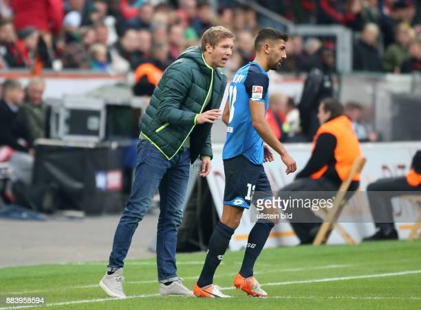 Fussball GER 1 Bundesliga Saison 2016 2017 8 Spieltag Trainer Julian Nagelsmann li und Kerem Demirbay