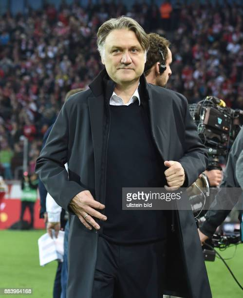 Fussball GER, 1. Bundesliga Saison 2016 2017, 9. Spieltag, 1. FC Koeln - Hamburger SV 3:0, Sportdirektor Dietmar Beiersdorfer
