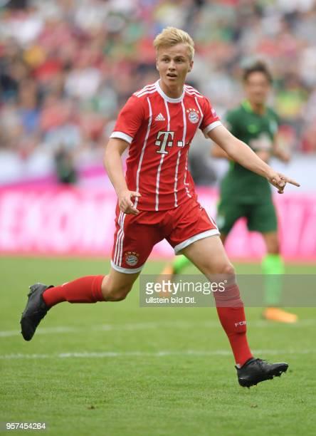 Fussball GER 1 Bundesliga Telekom Cup 2017 Finale SV Werder Bremen FC Bayern Muenchen 02 Felix Goetze Felix Götze