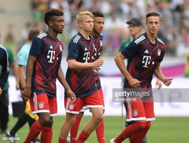 Fussball GER 1 Bundesliga Telekom Cup 2017 Finale SV Werder Bremen FC Bayern Muenchen vre Marco Friedl Corentin Tolisso Felix Goetze Felix Götze...