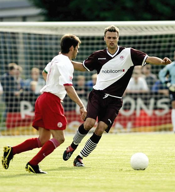 Fussball Hueppe Nordwest Cup Fc St Pauli Rot Weiss Essen