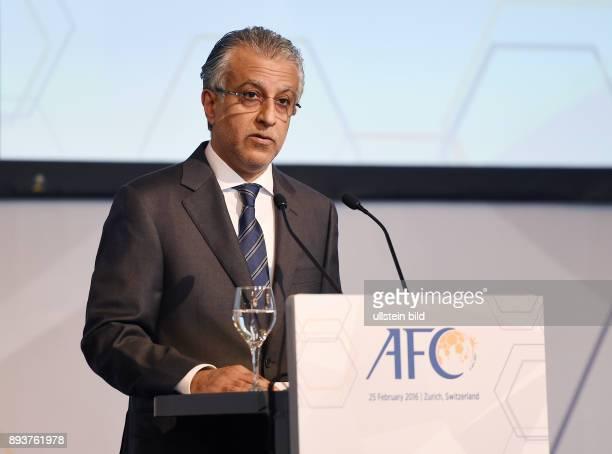 Fussball International Ausserordentlicher FIFA Kongress 2016 AFC Confederation Lunch im Marriott Zuerich AFC Praesedent Scheich Salman Bin Ibrahim...
