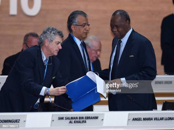 Fussball International Ausserordentlicher FIFA Kongress 2016 im Hallenstadion in Zuerich Vizepraesident und AFC Presedent Scheich Salman Bin Ibrahim...