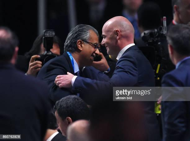 Fussball International Ausserordentlicher FIFA Kongress 2016 im Hallenstadion in Zuerich AFC Presedent Scheich Salman Bin Ibrahim al Khalifa...
