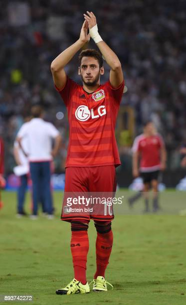 Fussball International Champions League Saison 2015/2016 Qualifikation Lazio Rom Bayer 04 Leverkusen Hakan Calhanoglu