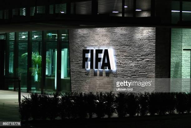 Fussball International Ende der Kontinentalrotation der Fussball Weltmeisterschaft Aussenansicht 'Home of FIFA'