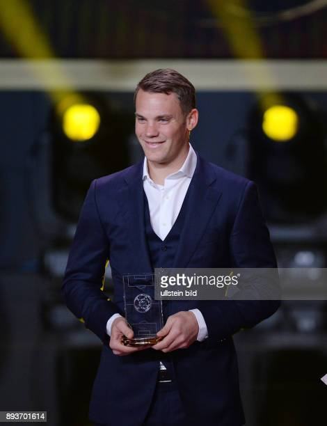 Fussball International FIFA Ballon d Or FIFA / FIFPro World XI Mannschaft des Jahres Torwart Manuel Neuer