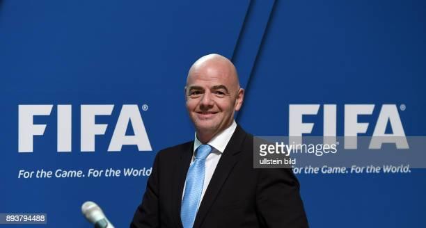 Fussball International Praesident Gianni Infantino