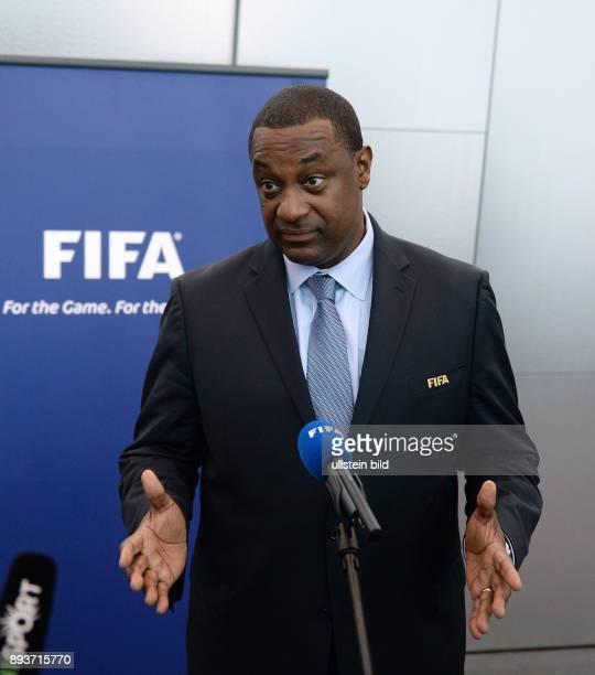 Fussball International FIFA Sitzung FIFA Task Force gegen Rassismus und Diskriminierung Vorsitzender und FIFA Vizepraesident Jeffrey WEBB beim...