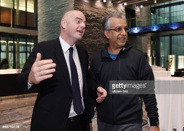 Fussball International Fussball International FIFA Praesident Gianni Infantino erster Tag im Home of Fifa Freundschaftsspiel FIFA Mitarbeiter und Ex...
