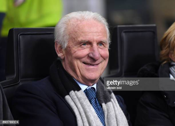 Fussball International Testspiel in Mailand Italien - Deutschland Ex Trainer Giovanni Trapattoni
