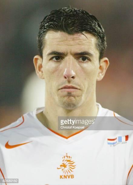 Fussball Laenderspiel 2004 Rotterdam Niederlande Frankreich 00 Roy MAKAAY / NED 310304