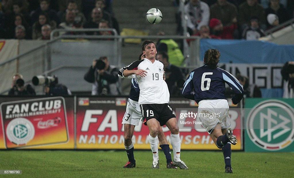 Laenderspiel 2005 Duesseldorf 09 02 05 2 2 Deutschland