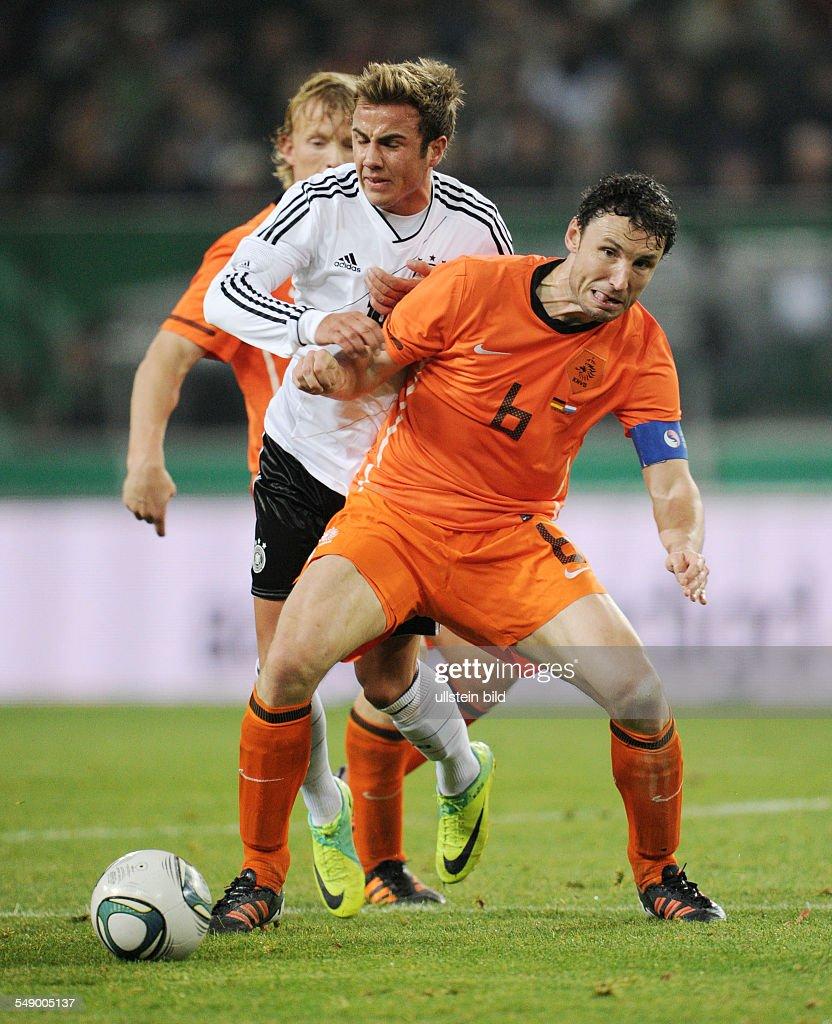 Fussball Landerspiel Deutschland Niederlande 3 0 Mario