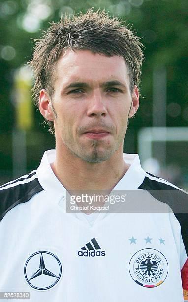 Fussball Nationalmannschaft Deutschland 2004 Alzey U 21 Fototermin Christian TIFFERT / GER 240504