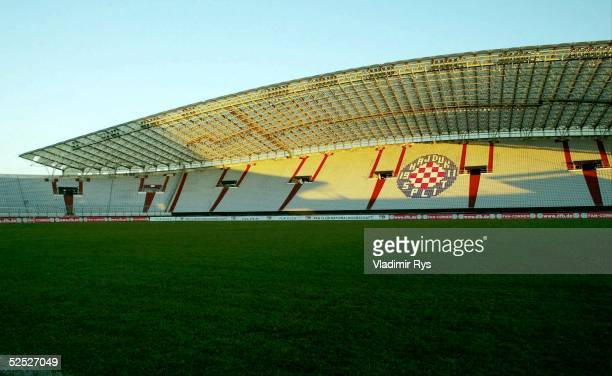 Fussball Nationalmannschaft Deutschland 2004 Split Training Uebersicht Poljud Stadium heimstadion von Hajduk Split 170204