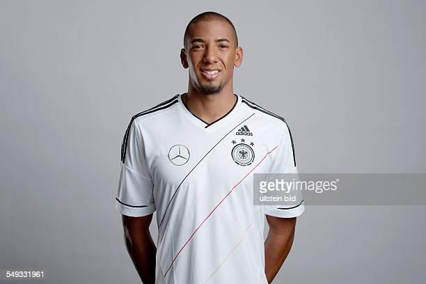 Fussball Offizieller Portrait Fototermin der Deutschen Fussball Nationalmannschaft in München Bild Nr 1209923 Jerome Boateng