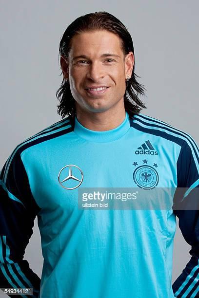 Fussball Offizieller Portrait Fototermin der Deutschen Fussball Nationalmannschaft in München Bild Nr 1209946 Torhüter Tim Wiese