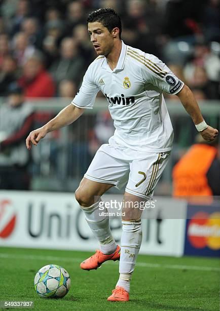 Fussball Saison 20112012 UEFA Champions League Halbfinale FC Bayern München Real Madrid 21 Cristiano Ronaldo