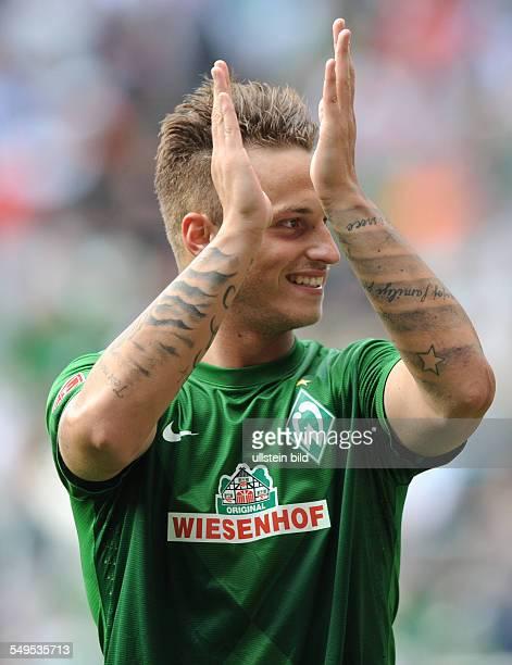 Fussball Saison 20122013 1 Bundesliga 2 Spieltag SV Werder Bremen Hamburger SV 20 Marko Arnautovic