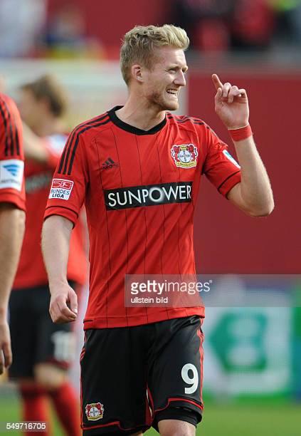 Fussball, Saison 2012-2013, 1. Bundesliga, 30. Spieltag, Bayer 04 Leverkusen - 1899 Hoffenheim 5-0, Andre Schürrle