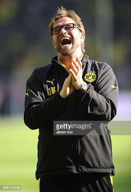 Fussball, Saison 2012-2013, 1. Bundesliga, 30. Spieltag, Borussia Dortmund - FSV Mainz 05 2-0, Trainer Jürgen Klopp
