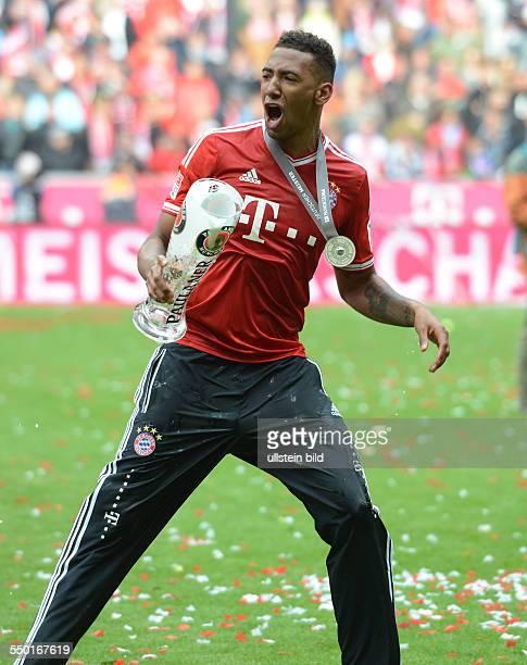 Fussball Saison 20122013 1 Bundesliga 33 Spieltag FC Bayern München FC Augsburg 30 Jerome Boateng