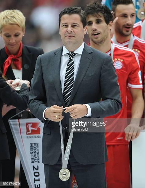 Fussball Saison 20122013 1 Bundesliga 33 Spieltag FC Bayern München FC Augsburg 30 Christian Seifert