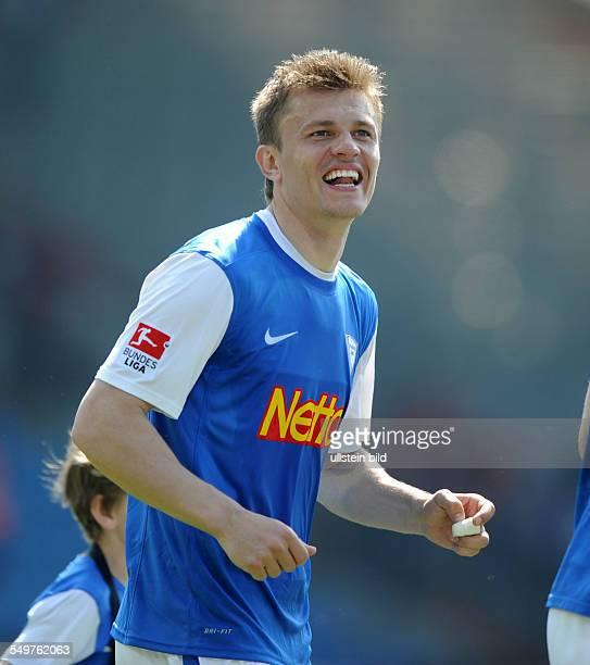 Fussball, Saison 2012-2013, 2. Bundesliga, 32. Spieltag, VfL Bochum - 1. FC Köln 2-1, Jubel Zlatko Dedic
