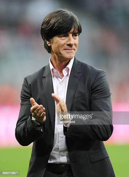 Fussball, Saison 2013-2014, 1. Bundesliga, 1. Spieltag, FC Bayern München - Borussia Mönchengladbach 3-1, Bundestrainer Joachim Löw