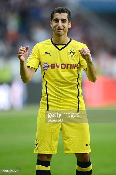 Fussball, Saison 2013-2014, 1. Bundesliga, 4. Spieltag, Eintracht Frankfurt - Borussia Dortmund 1-2, Henrikh Mkhitaryan
