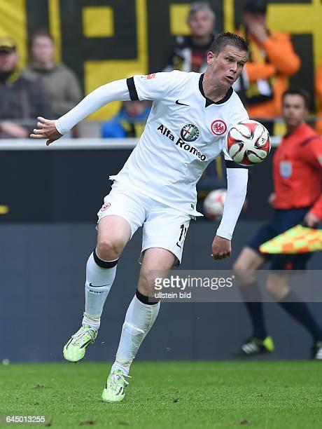 Fussball, Saison 2014/15, 1. Bundesliga, 30. Spieltag,Borussia Dortmund - Eintracht Frankfurt 2:0Alexander Madlung