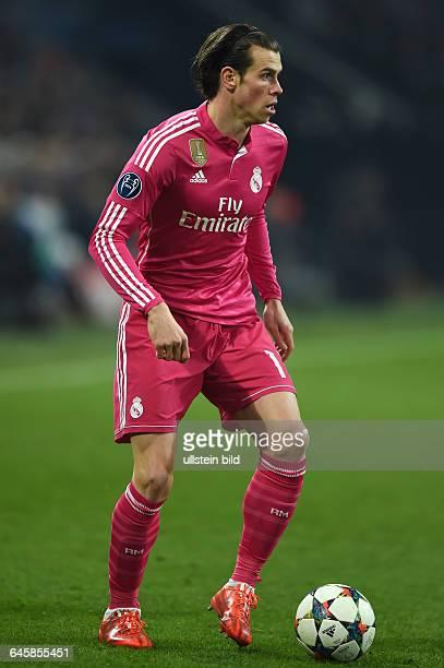 Fussball Saison 2014/15 Champions League 2014/15 AchtelfinaleFC Schalke 04 Real Madrid 02Gareth Bale