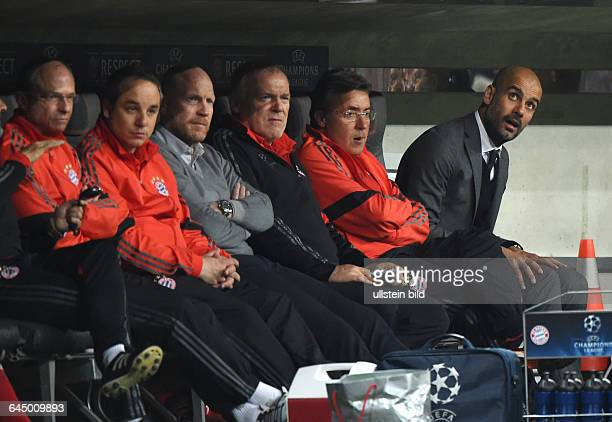 Fussball Saison 2014/15 Champions League 2014/15 ViertelfinaleFC Bayern München FC Porto 61vre Trainer Pep Guardiola CoTrainer Domenec Torrent...