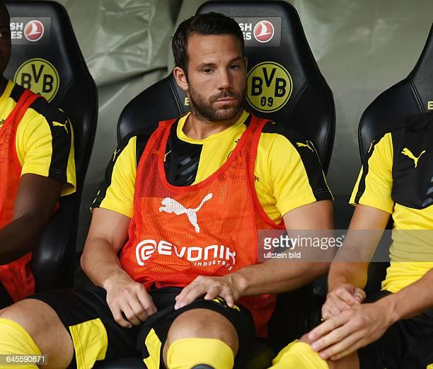 Fussball Saison 2015/2016 Europa League Qualifikation 3 RundeBorussia Dortmund Wolfsberger AC 50Gonzalo Castro
