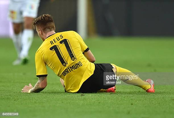 Fussball Saison 2015/2016 Europa League Qualifikation 3 RundeBorussia Dortmund Wolfsberger AC 50Marco Reus