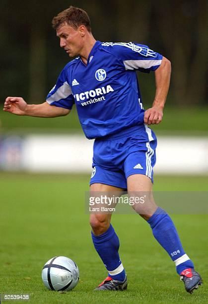 Fussball Testspiel 2004 Goch FC Schalke 04 Alemannia Aachen Ebbe SAND / S04 200704