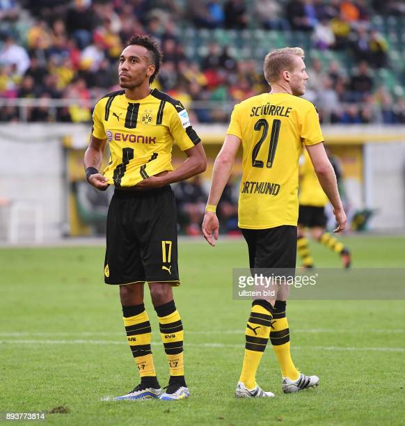 Fussball Testspiel International Saison 2016/2017 Borussia Dortmund Athletic Bilbao Enttaeuschung PierreEmerick Aubameyang verschiesst einen Elfmeter...