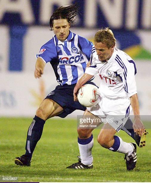 Fussball Turnier 2004 Maspalomas Hertha BSC RSC Anderlecht 12 Niko KOVAC / Hertha Martin KOLAR / Anderlecht 120104