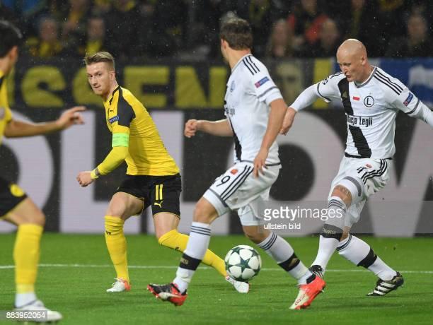 Fussball UEFA Champions League 2016/17 Vorrunde 5 Spieltag vli Marco Reus Bartosz Bereszynski Jakub Czerwinski