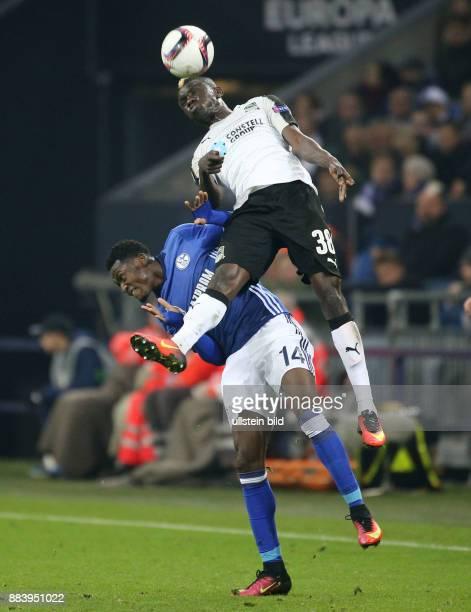 Fussball UEFA Europa League 2016/17 4 Spieltag Kouassi Eboue re gegen Abdul Rahman Baba