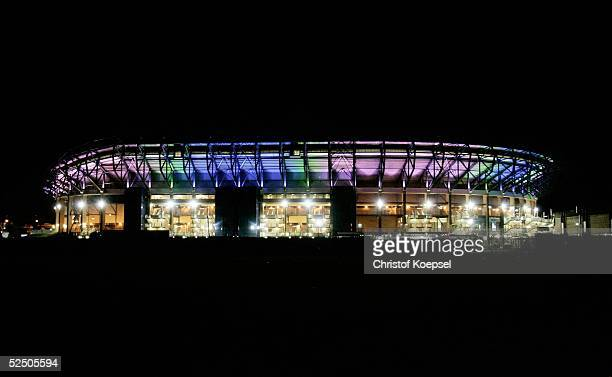Stadion Nacht Premium Pictures Photos Images Getty Images