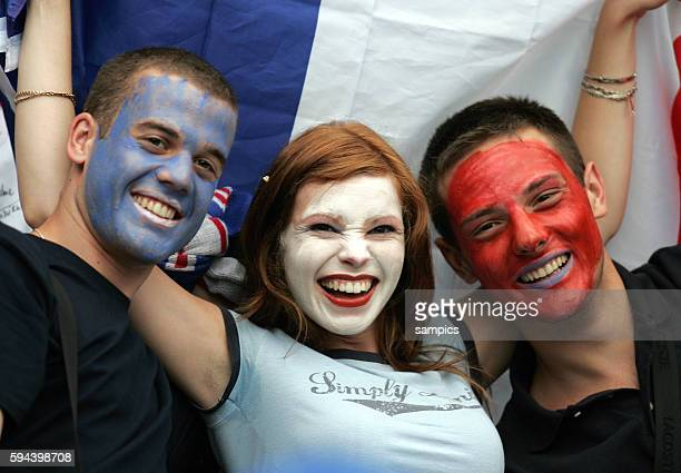 Spanien Frankreich Spain France Fan Frankreich FIFA Fußball Weltmeisterschaft 2006 in Deutschland Football world cup 2006 in Germany