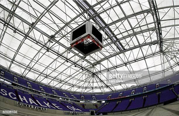 Fussball WM 2006 Gelsenkirchen Feature Arena auf Schalke Innenraum geschlossenes Dach 090304