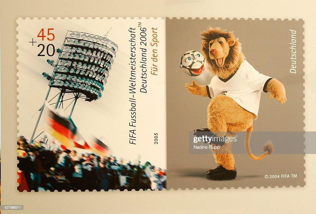 Fussball Wm 2006 Praesentation Briefmarke Und Muenze Pictures