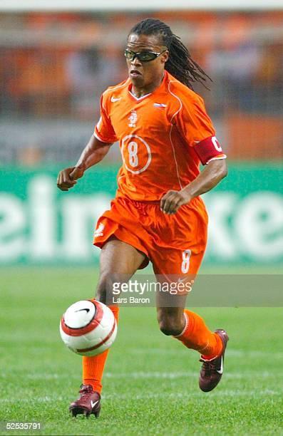 Fussball WM Qualifikation 2004 Amsterdam Niederlande Tschechien 20 Edgar DAVIDS / NED 080904